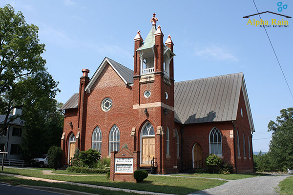 Historic Churches metal roofing in virginia Photo Gallery Copper Church Metal Roof 3