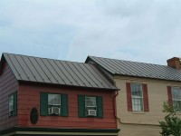 Copper Standing Seam Metal Roof