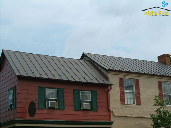 Standing Seam Metal Roofs metal roofing in virginia Photo Gallery Copper Standing Seam Metal Roof