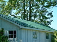 Evergreen Standing Seam Metal Roof