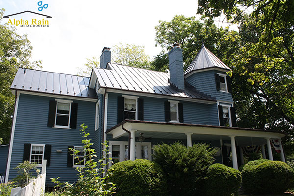 See the work of metal roofing in virginia and more by - Black metal roof pictures ...