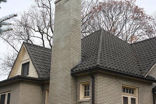 Stone Coated Barrel Tile Roofing