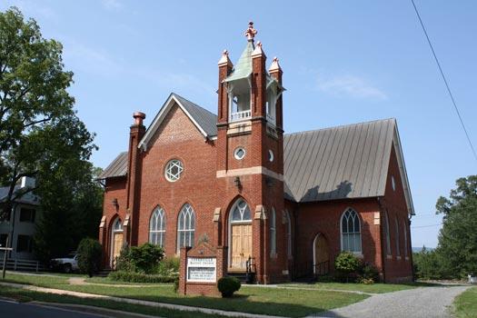 Copper Church Metal Roof