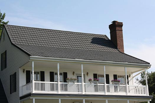 Popular Metal Roofing Most Popular Metal Roofing Techniques Out There Stone Coated Slate Metal Roof 2